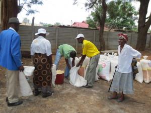 Distributing Maize